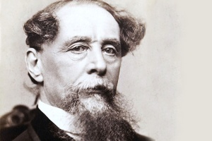 Charles Dickens, author of A Christmas Carol.
